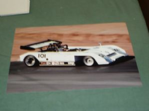 "SHADOW Mk3 Can Am 1972 Riverside Jackie Oliver. 12X8"" COLOUR PHOTO"